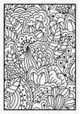 Patroon voor het kleuren van boek Royalty-vrije Stock Afbeelding