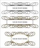 Patroon voor tekst Royalty-vrije Stock Foto