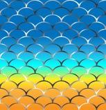 Patroon in zeevaartstijl royalty-vrije illustratie