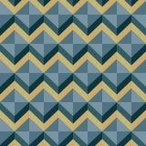 Patroon-zigzag-0011 Stock Afbeeldingen