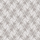Patroon in zigzag met zwart-witte lijn Stock Fotografie