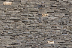 Patroonmuur van decoratieve stenen Royalty-vrije Stock Foto