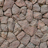 Patroonmuur van decoratieve stenen Stock Afbeeldingen