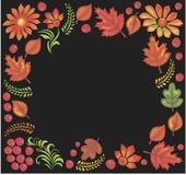 patroszonego ramowego rosjanina stylu tradycyjny wektor Zdjęcia Royalty Free