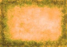 Patroszony textured grunge tło księga zmięty Horyzontalny sztandar ilustracja wektor