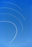 Patrouille Acrobatique De Frankreich Stockfotografie