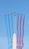 Patrouille de France à Buenos Aires Photographie stock libre de droits