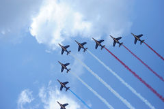 Patrouille de France Stock Photography