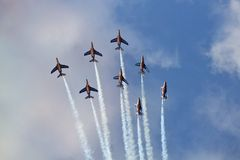 Patrouille de France Stock Photos