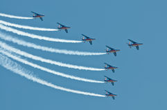 Patrouille de France Images stock
