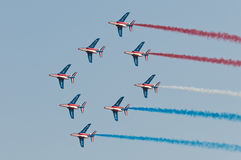 Patrouille de France Fotografia de Stock Royalty Free