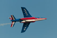 Patrouille de France Photo stock