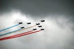 Patrouille de France Image stock