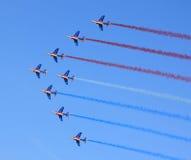patrouille de France Zdjęcia Stock