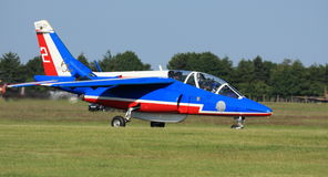 Patrouille de France imagem de stock royalty free