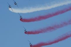 patrouille de France Zdjęcie Royalty Free