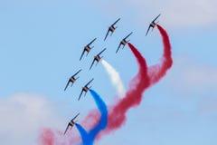 Patrouille de France airshow Stock Photos