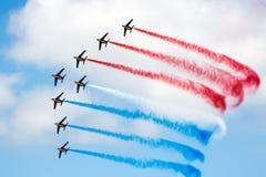 Patrouille de France airshow Stock Photo
