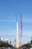 Patrouille de France in Buenos Aires Royalty Free Stock Photography