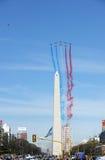 Patrouille de France em Buenos Aires Fotografia de Stock Royalty Free