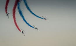 Patrouille de France Royalty Free Stock Photos