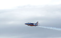 The Patrouille de France hawk Royalty Free Stock Image