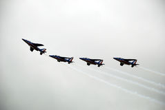 Patrouille de France (2) Royalty Free Stock Photos