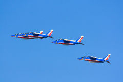 Patrouille de France jets Stock Photography