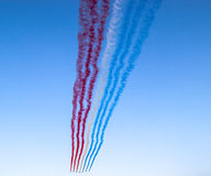 Patrouille de France, Paris, France. Patrouille de France in Paris, France Royalty Free Stock Image