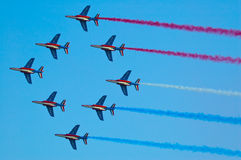 Patrouille de France - Radom Airshow - Poland Stock Photos
