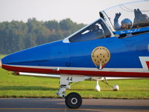 Patrouille de France, Radom, Poland Stock Photography