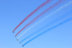 Patrouille de France Royalty Free Stock Image