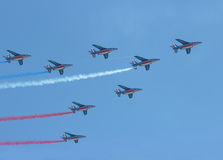 Patrouille de France Stock Photo