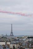 Patrouille de France Trail Stock Image