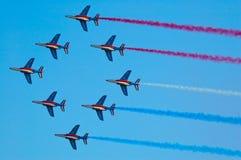 Patrouille de Francia - Radom Airshow - Polonia Fotografie Stock