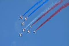 Patrouille De Frankreich lizenzfreies stockbild
