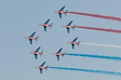 Patrouille De Frankreich Lizenzfreie Stockfotografie