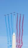 Patrouille De Frankreich in Buenos Aires Lizenzfreie Stockfotografie