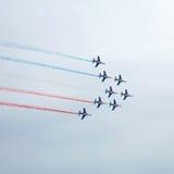 Patrouille DE Frankrijk Stock Afbeeldingen