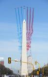 Patrouille DE Frankrijk in Buenos aires Stock Afbeeldingen