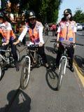 Patrouille de vélo Image stock