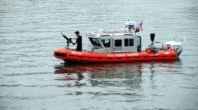 Patrouille du garde côtier des USA Photographie stock libre de droits