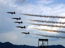 patrouille suisse Zdjęcie Royalty Free