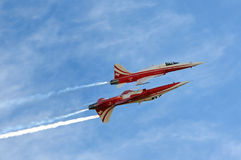 Patrouille Suisse Royalty Free Stock Images