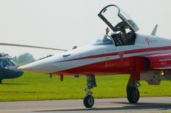 Patrouille Suisse - Radom Airshow - la Polonia Immagine Stock Libera da Diritti