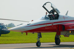 Patrouille Suisse - Radom Airshow - Poland Royalty Free Stock Image
