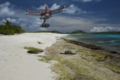 Patrouille tropicale aérienne Photos stock