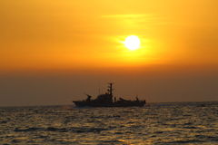 Patrouillenboot Lizenzfreie Stockfotos