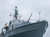 Patrouillenschiff lizenzfreies stockfoto