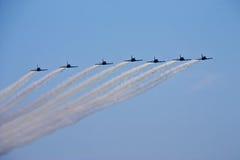 Patrouillieren Sie Kampfflugzeug Lizenzfreies Stockbild